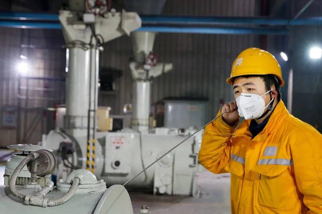 江苏南热发电有限责任公司将防控与生产紧密结合,保障人员安全、生产安全。公司供图