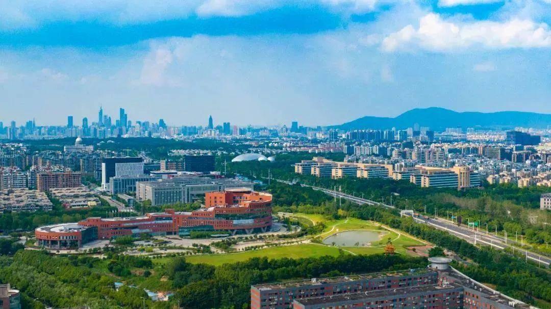 中国(南京)软件谷。南报融媒体记者 冯芃摄