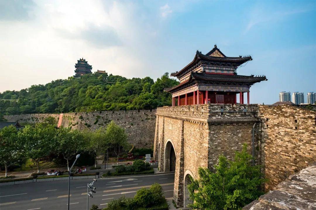 陳志文拍攝的南京城墻。受訪者供圖