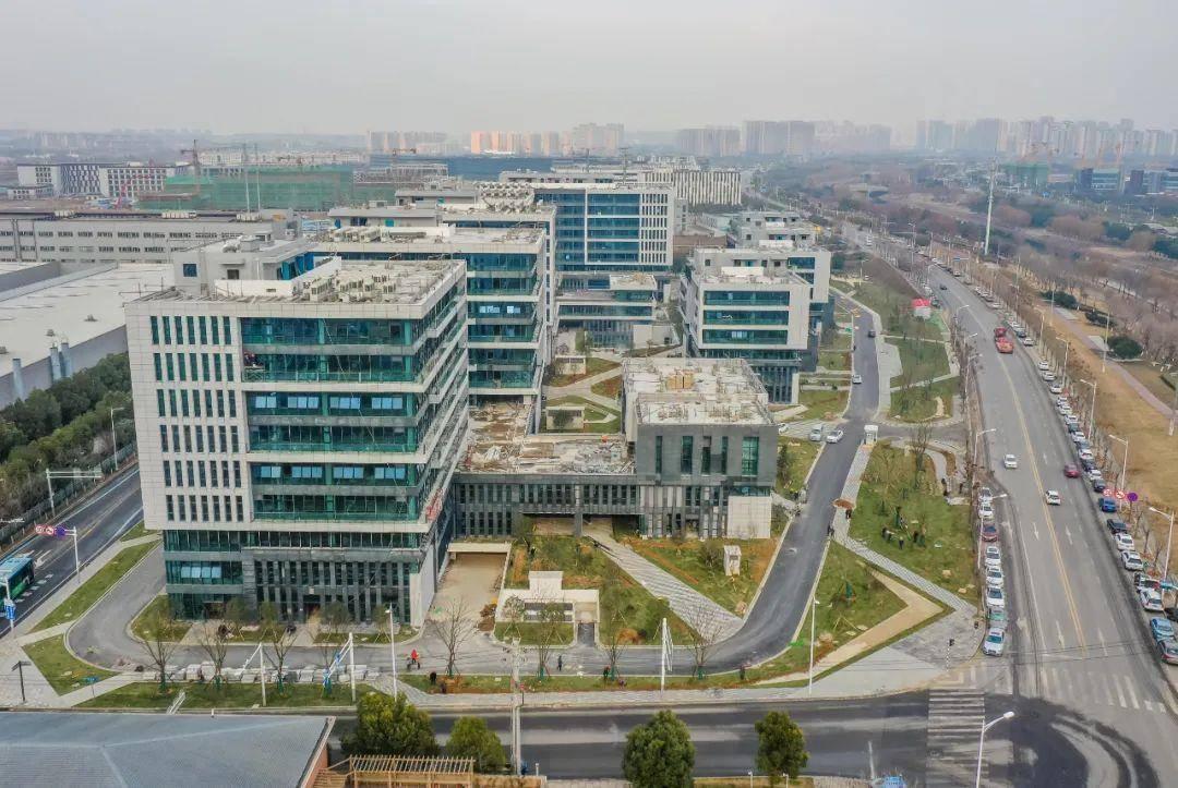 白下高新设计产业园。通讯员 杨慧 南报融媒体记者 董家训摄