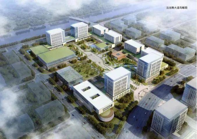 中科院南京分院麒麟科学城项目效果图。麒麟高新区供图