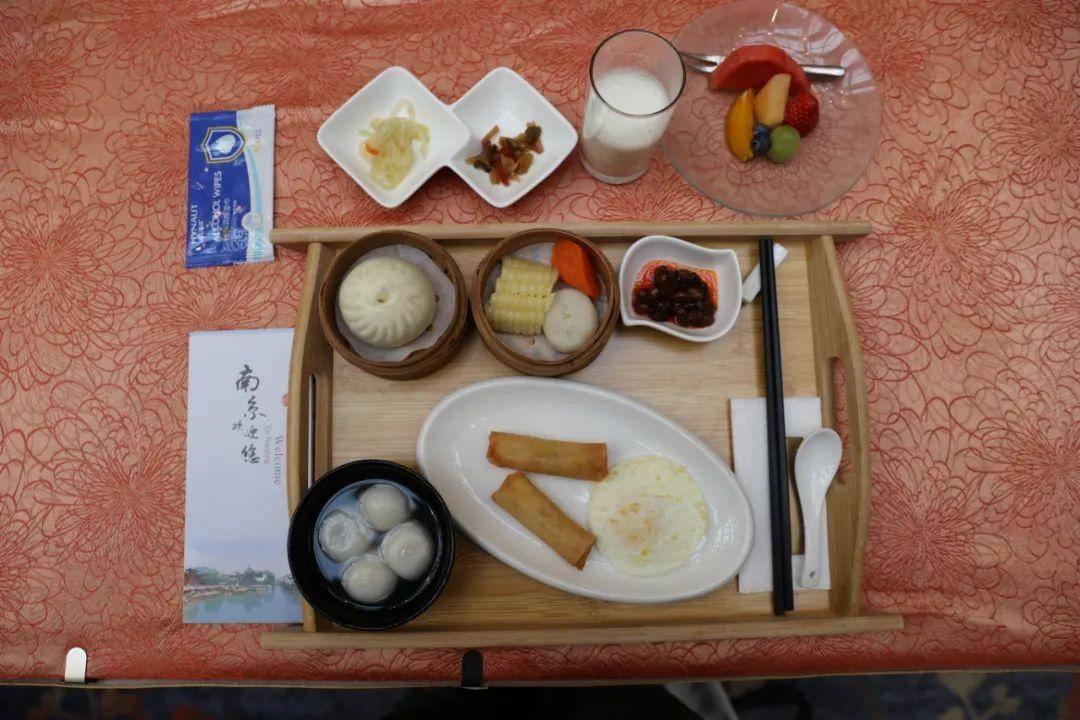 2月27日,企业家早餐会上的早餐。南报融媒体记者 冯芃摄