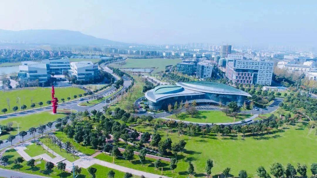 南京生命科技小镇。南报融媒体记者 张华摄