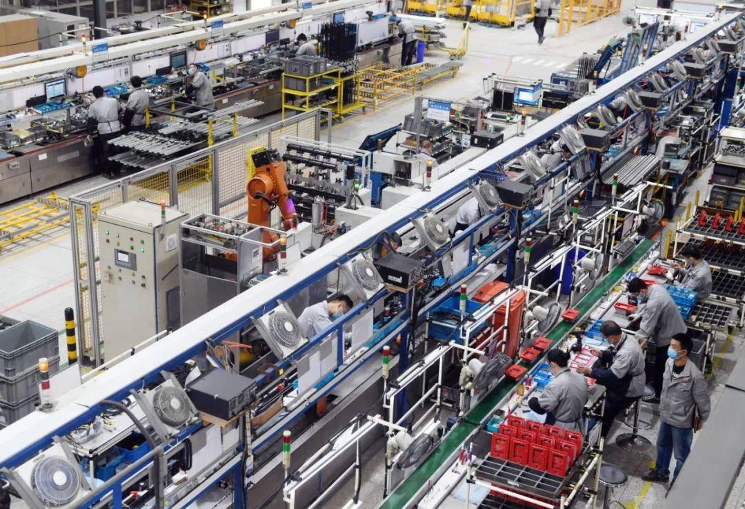 南京經開區的南京康尼機電股份有限公司智能化生產車間。南報融媒體記者 崔曉攝