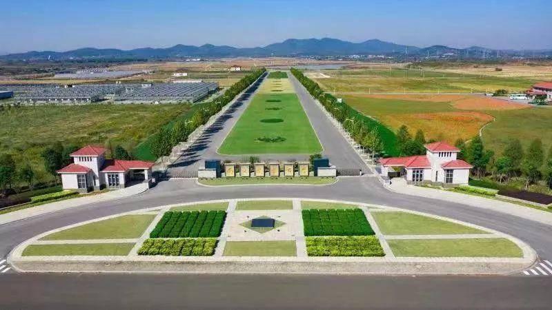 南京農業大學教學實驗基地。圖源:微溧水