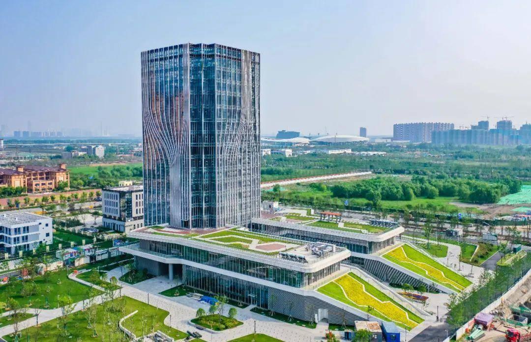 江北新区智能电网调管中心一期交付。南报融媒体记者 董家训 摄
