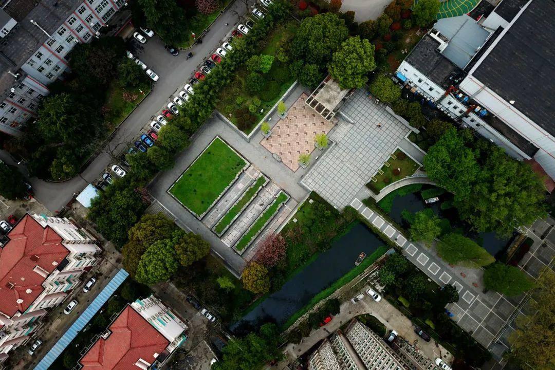 航拍南京明故宫西华门遗址公园。图片来源:视觉中国