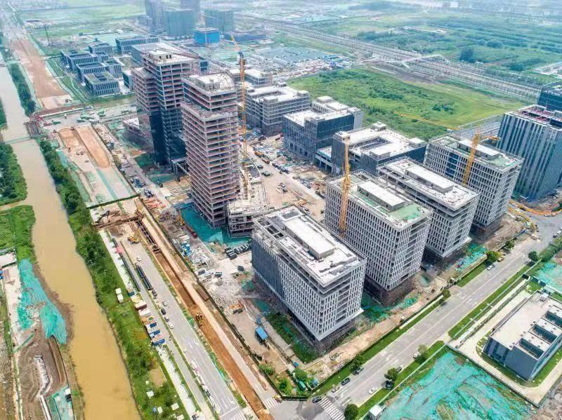 俯瞰江苏省产业技术研究院专业化研究所。南京江北新区供图